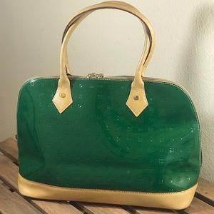 Arcadia green satchel